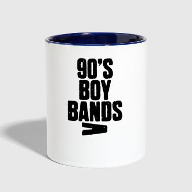 90's Boy Band - Contrast Coffee Mug