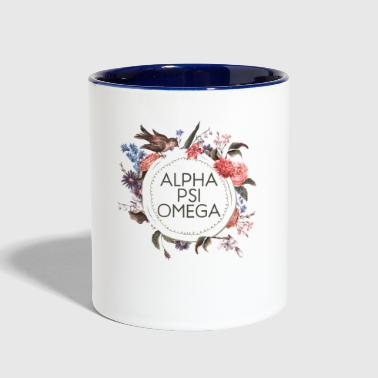 Alpha Psi Omega - Contrast Coffee Mug