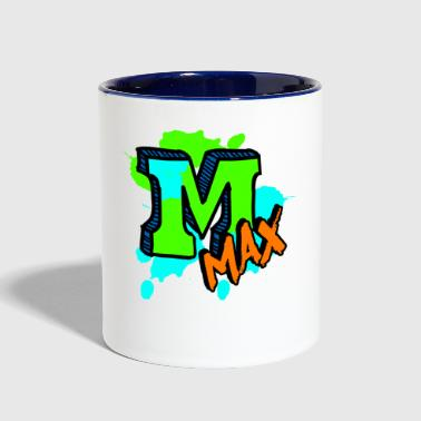 Max To The Max - Contrast Coffee Mug