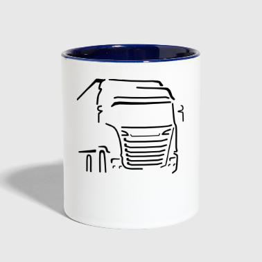 Transport Vehicle - Contrast Coffee Mug
