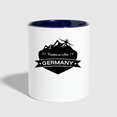 Frankfurt am Main Germany - Contrast Coffee Mug