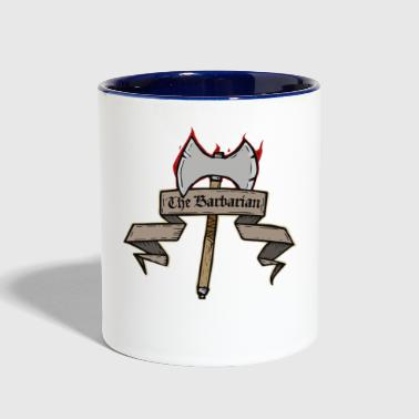 The Barbarian - Contrast Coffee Mug
