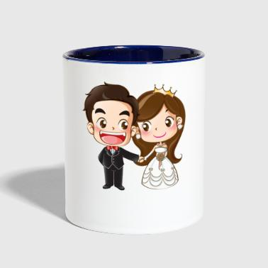 Love | Wedding | I Love You - Contrast Coffee Mug