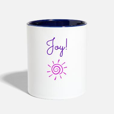 Joy Joy! - Contrast Coffee Mug