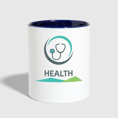 Health - Contrast Coffee Mug