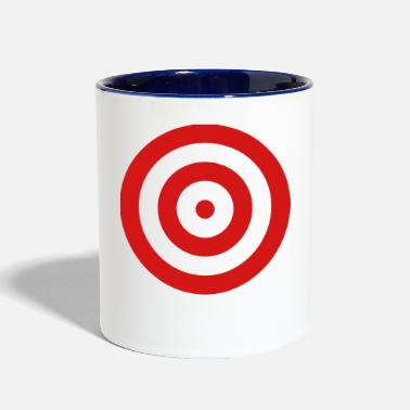 Target Shooting for who dare to wear! - Contrast Coffee Mug