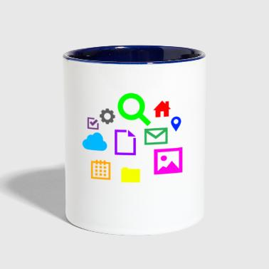 Internet - Contrast Coffee Mug
