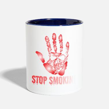 Smoking No Smoking - Two-Tone Mug