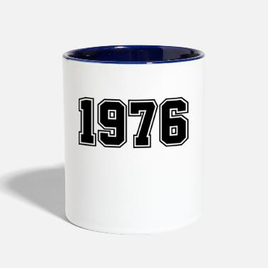 Birth 1976 | Year of Birth | Birth Year | Birthday - Contrast Coffee Mug