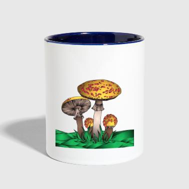 Magic Mushroom - Contrast Coffee Mug