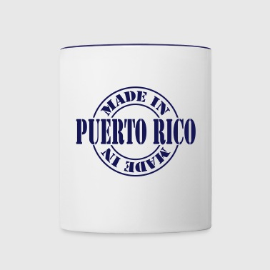 made_in_puerto_rico_m1 - Contrast Coffee Mug