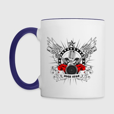 Rock Star Classic Resized W - Contrast Coffee Mug