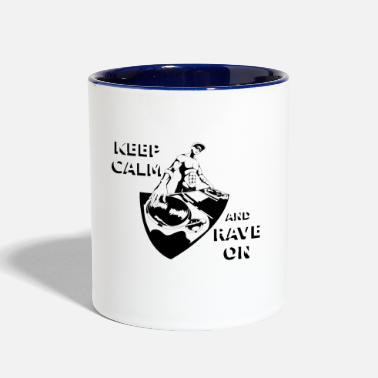 Rave RAVE ON - Contrast Coffee Mug