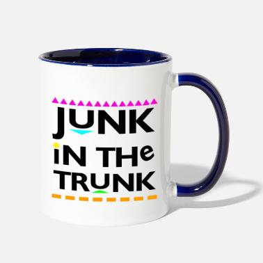 Trunks Junk In The Trunk - Two-Tone Mug