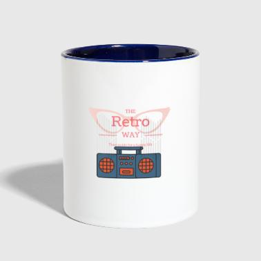 Retro! - Contrast Coffee Mug