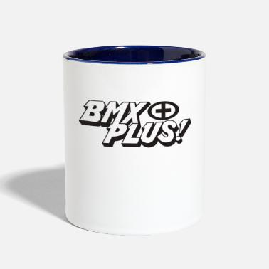 Plus Plus BMX - Contrast Coffee Mug