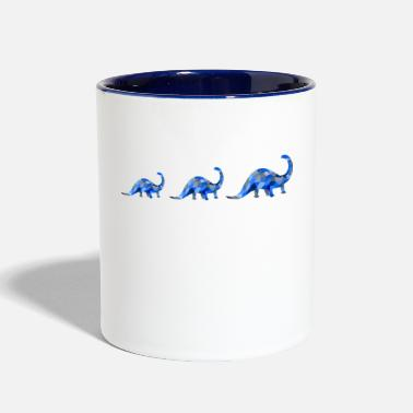 Group dinosaur group - Contrast Coffee Mug