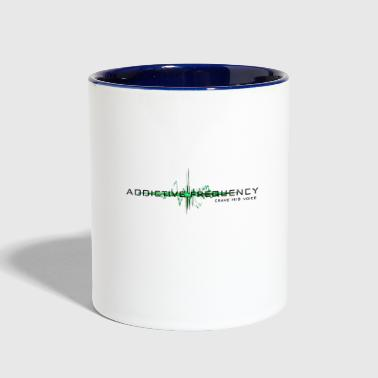 Frequency Addictive Frequency - Contrast Coffee Mug