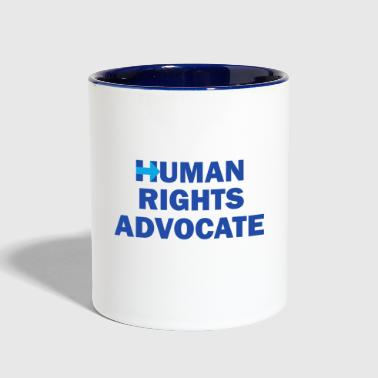 Human-Rights-Advocate - Contrast Coffee Mug