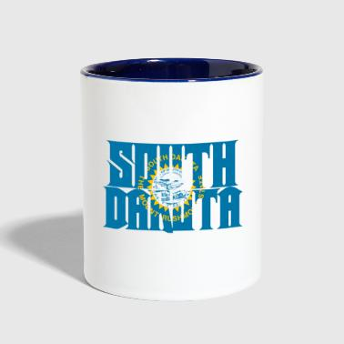 South Dakota - Contrast Coffee Mug