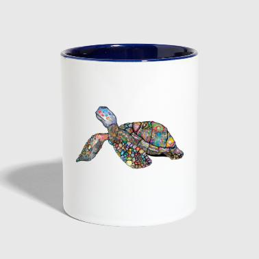 Sea Turtle - Contrast Coffee Mug