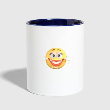 Laugh - Contrast Coffee Mug