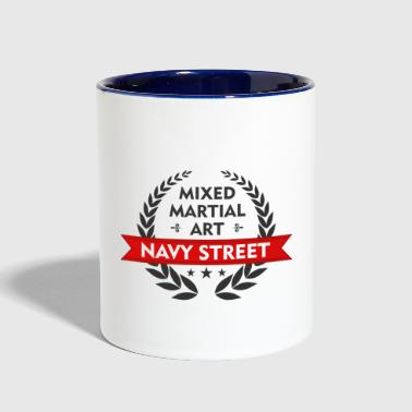 mixed martial art - Contrast Coffee Mug