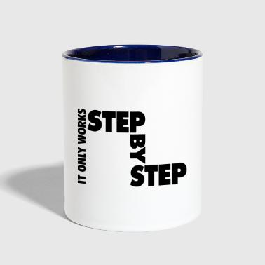 step by step - Contrast Coffee Mug