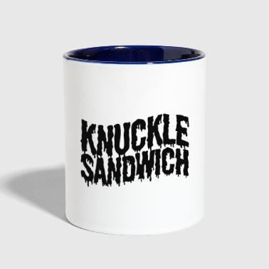 Knuckle Sandwich Ringer - Contrast Coffee Mug