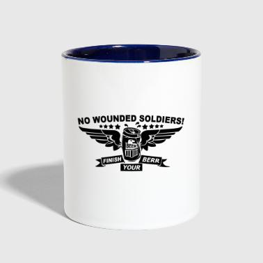 No Wounded - Contrast Coffee Mug