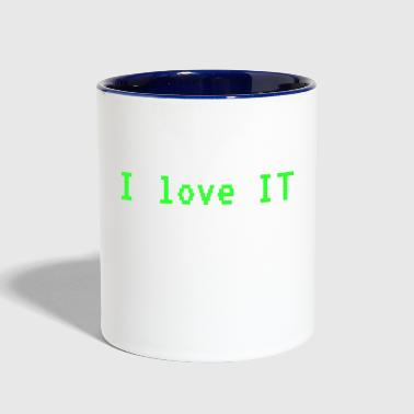 I love IT - Contrast Coffee Mug