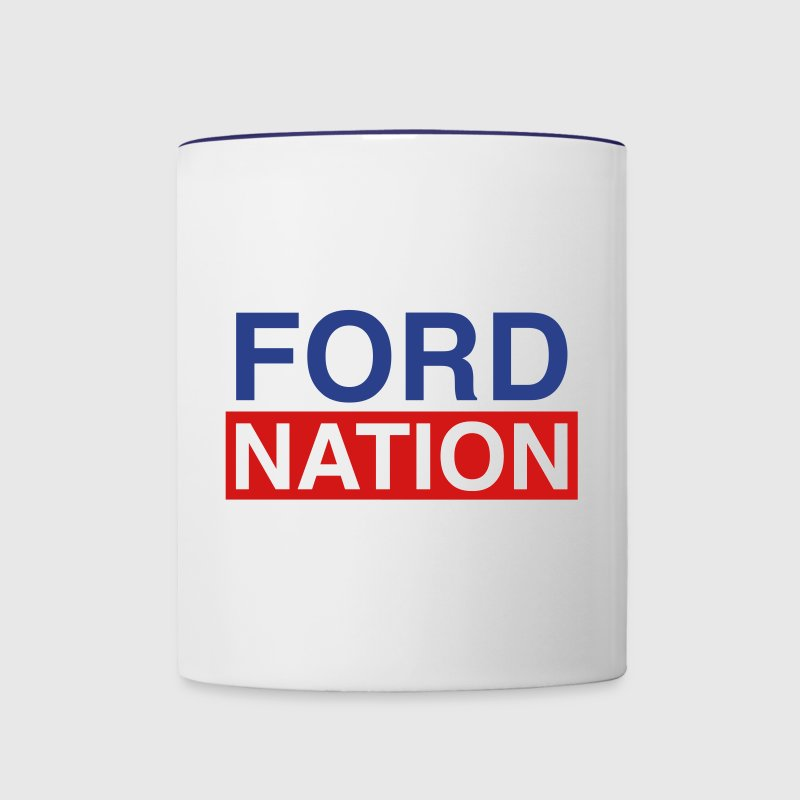 Ford for Mayor; Ford Nation - Contrast Coffee Mug