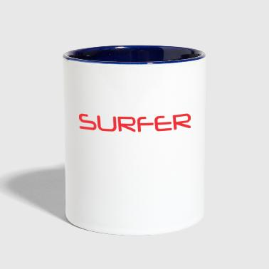 Surfer Surfer - Contrast Coffee Mug