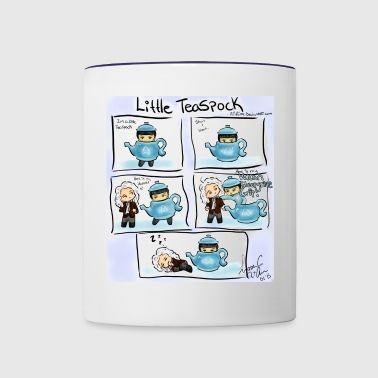 Little TeaSpock - Contrast Coffee Mug