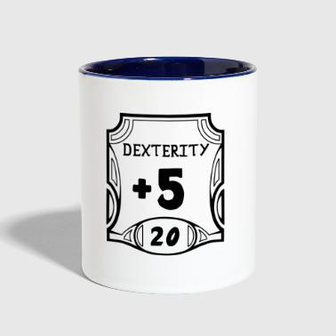 All of the Dexterity - Contrast Coffee Mug