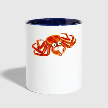 Crab Crabs Lobster Crawfish Crayfish Gift Present - Contrast Coffee Mug