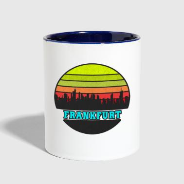 Frankfurt Germany - Contrast Coffee Mug