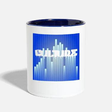 Equalizer CULTURE WITH EQUALIZER - Two-Tone Mug