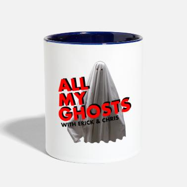 Ghost All My Ghosts Sheet Ghost - Contrast Coffee Mug