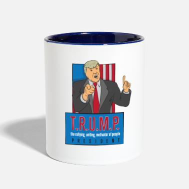 Acronym thenation trump acronym design - Contrast Coffee Mug