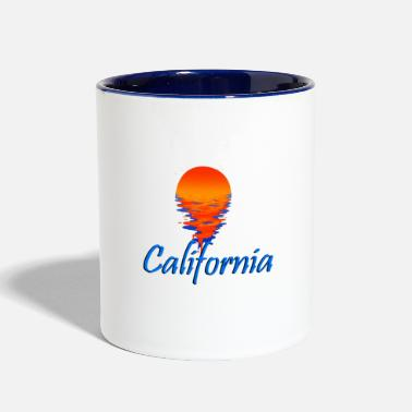California California - Two-Tone Mug