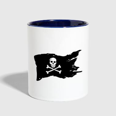 Pirate Flag - Contrast Coffee Mug