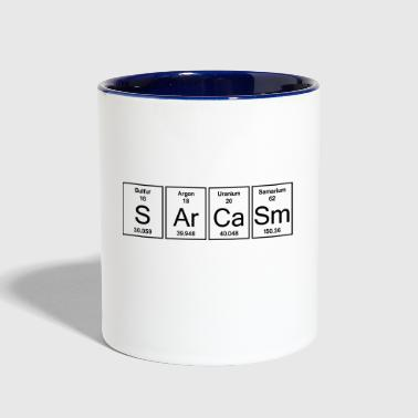 Sarcasm Element Sarcasm - Contrast Coffee Mug