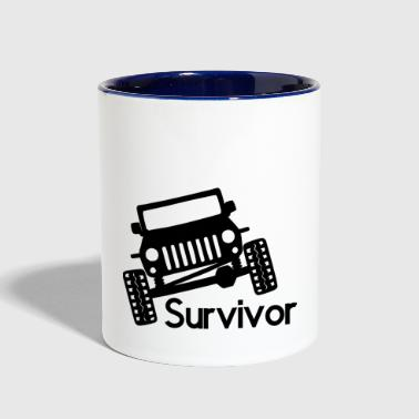 Survivor Survivor - Contrast Coffee Mug