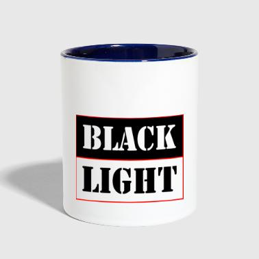 Black light red - Contrast Coffee Mug