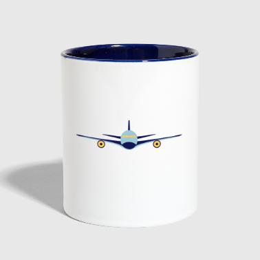 Flight Plane flight - Contrast Coffee Mug