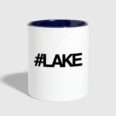 #Lake - Contrast Coffee Mug