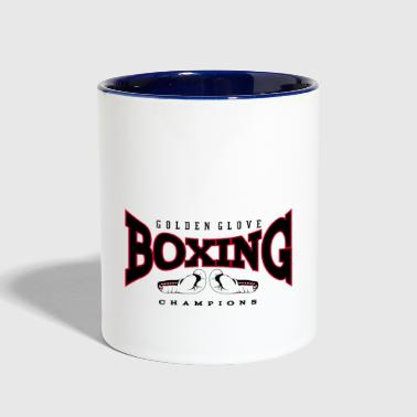 Boxing champion gloves - Contrast Coffee Mug