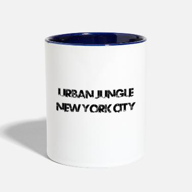 City Urban Jungle - New York City - Contrast Coffee Mug