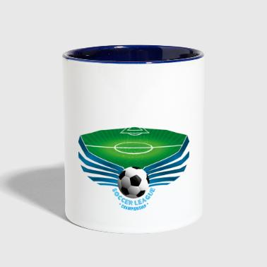 Soccer League - Contrast Coffee Mug